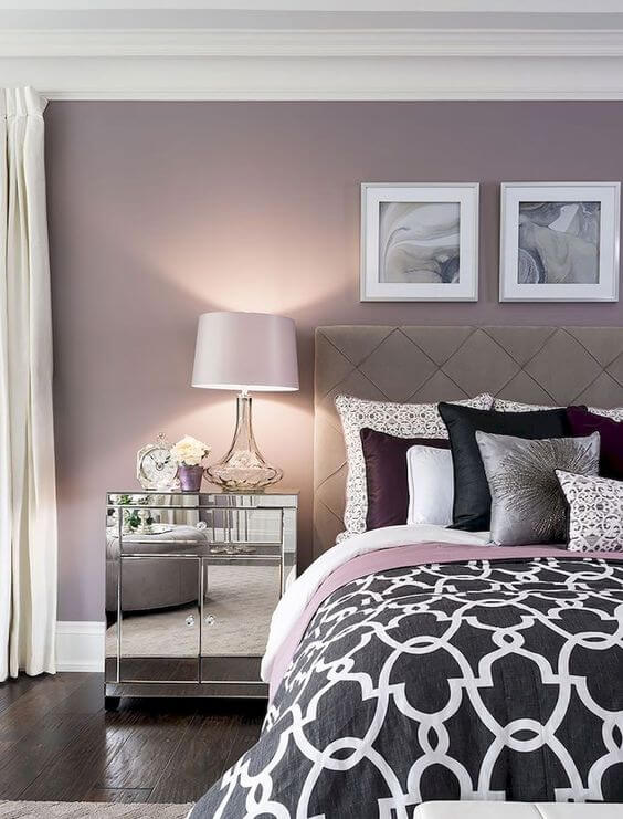 Colour Palette and Visual Comfort in bedroom interior design
