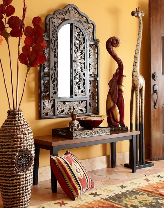 Indian Design Style into Your Space- rich decor