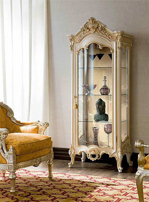 Indian Design Style into Your Space- Decorative cabinets
