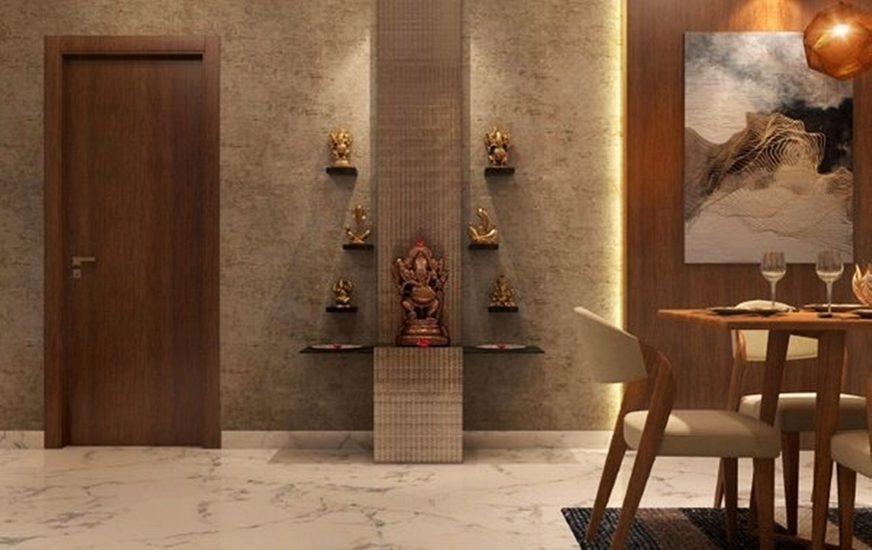 Indian Design Style into Your Space- Puja room