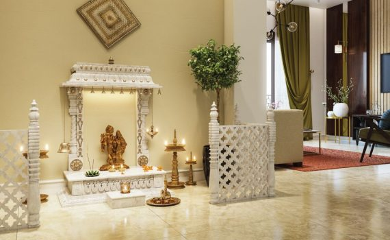 What are the best places to install Pooja Mandir Interior at Home?